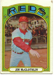 1972 Topps Baseball Cards      236     Jim McGlothlin